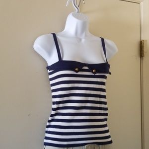 Spring and Clifton striped tank from Anthropologie